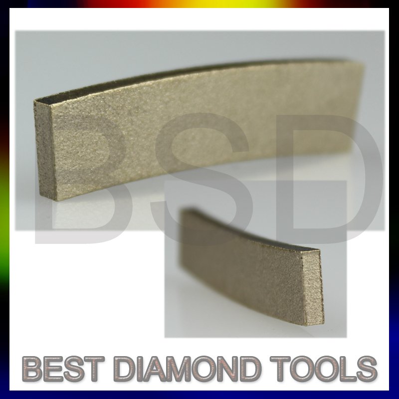 1200mm 1600mm 2000mm fast cutting stone cutting Sandwich Diamond Marble Segment for stone cutting machines