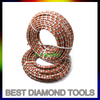 8.5mm 9.0mm Diamond Wire Saw Cutting Granite Sandstone Marble For CNC profile wire machine