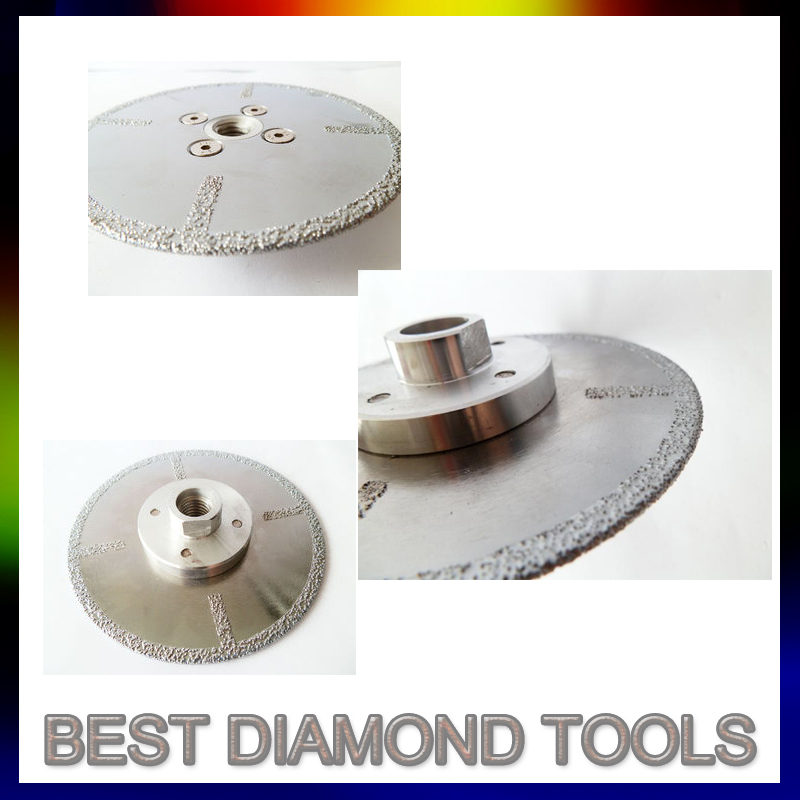 Vacuum Brazed Blade/Electroplate Blade