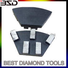 Diamond concrete tools metal cassani for terrazzo grinding
