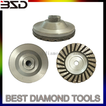 Turbo Type Single Row Cup Wheel With steel Basement