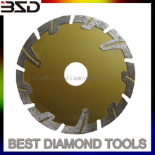 diamond protected segment saw blade