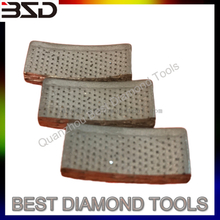 Arix Tech Diamond Core Drill Bit Segment 24x4x10mm For Welding Retipping
