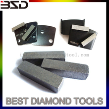 Floor Grinding Diamond Tools Head Stone Grinding Segment for Trapezoid , HTC, Lavina Grinding Pad, Grinding Cup Wheels