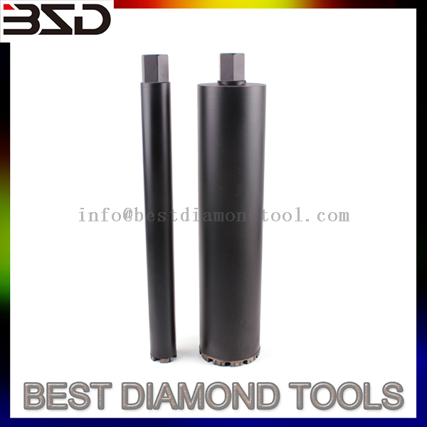 D52 mm Diamond Core Bit for Reinforced Concrete,UNC1-1/4''-7