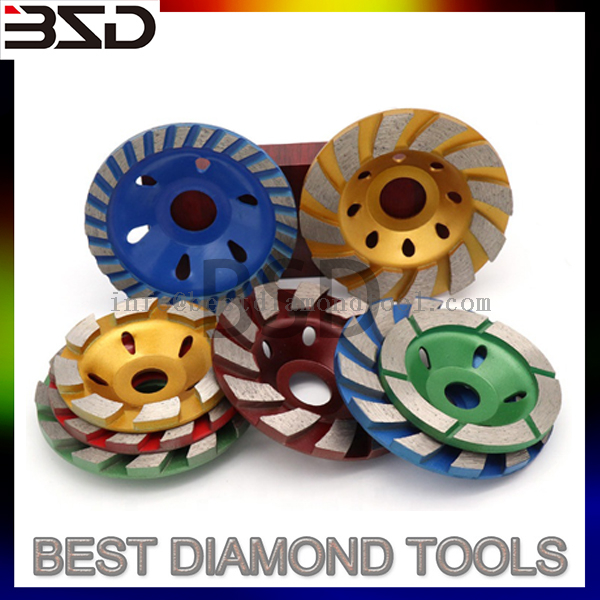 4 inch abrasive diamond grinding cup wheel for ceramic tile marble
