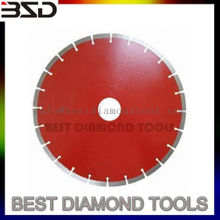 Silver Brazed Granite Diamond Cutting Saw Blade