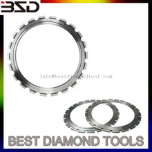 350mm Laser Welded Ring Diamond Saw Blade with Driving Wheel/Diamond Tool