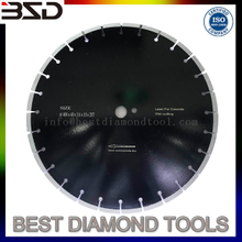 350mm Key Slot Granite Diamond Cutting Disc