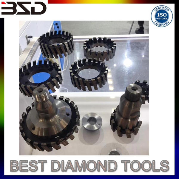 Diamond CNC Stone Stubbing Grinding Wheel for Granite and Marble Surface Material Removal